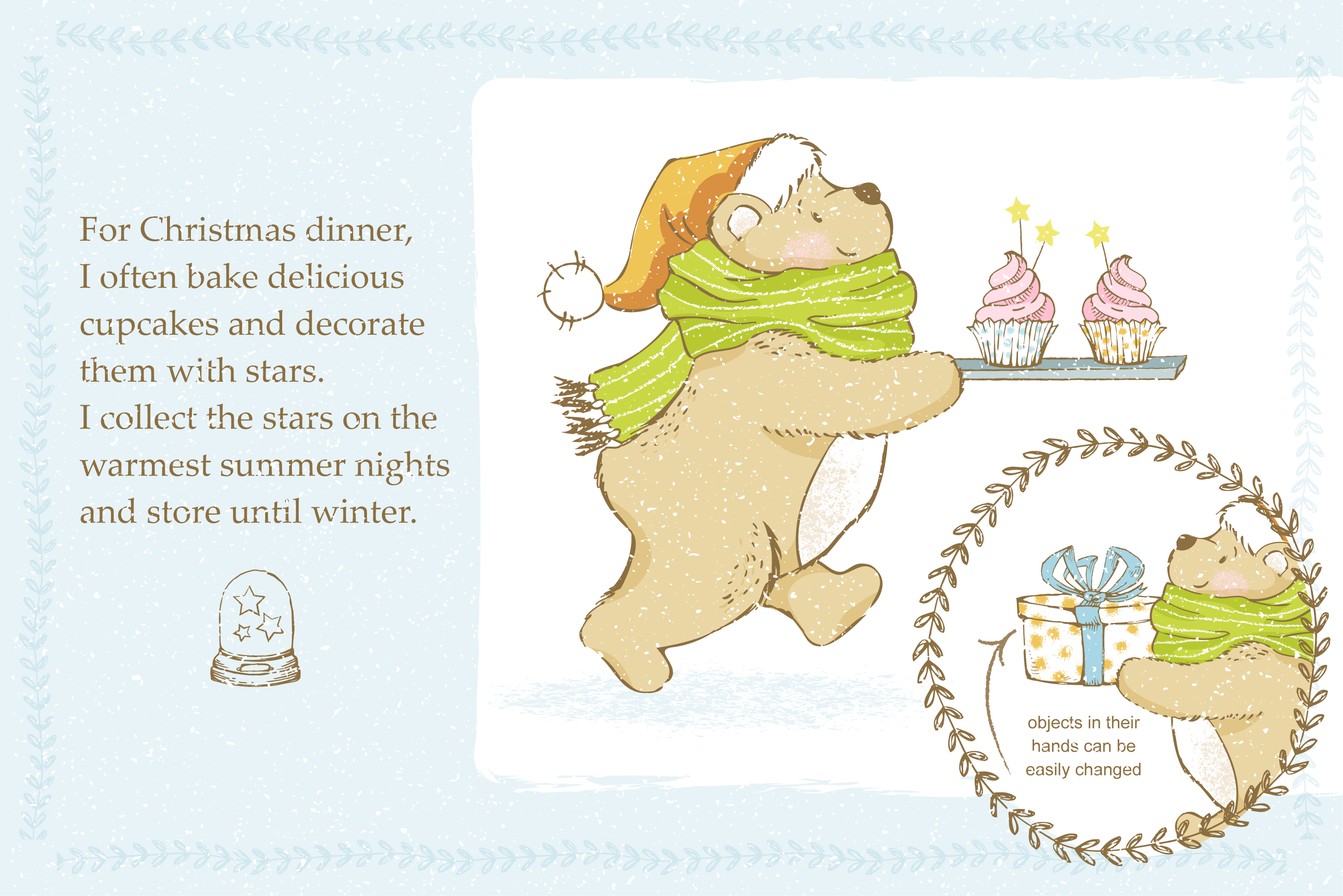 Teddy Bear little story. example image 4