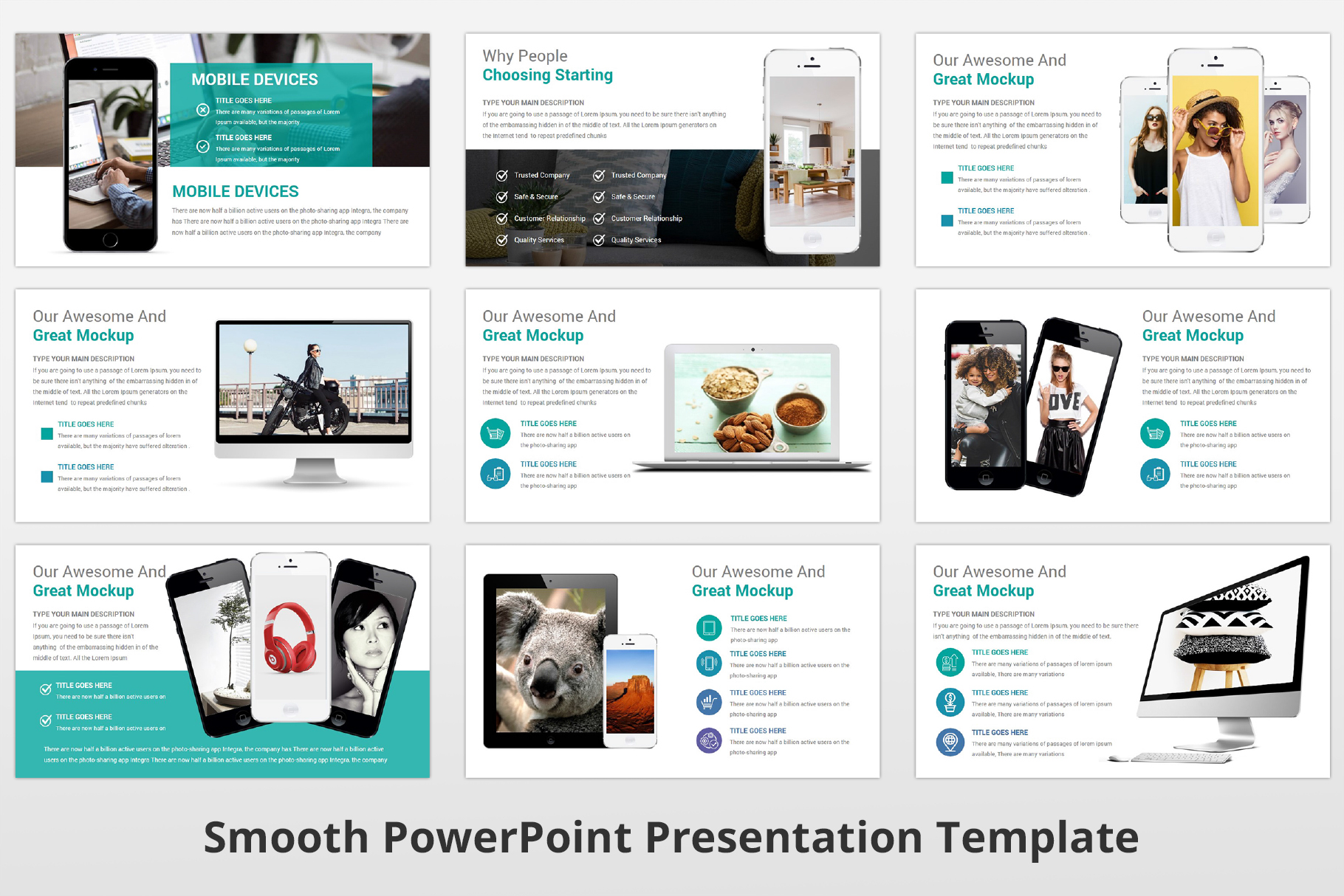 Smooth multipurpose PowerPoint Presentation Template example image 19