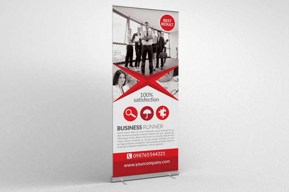 Business Roll Up Banners example image 4
