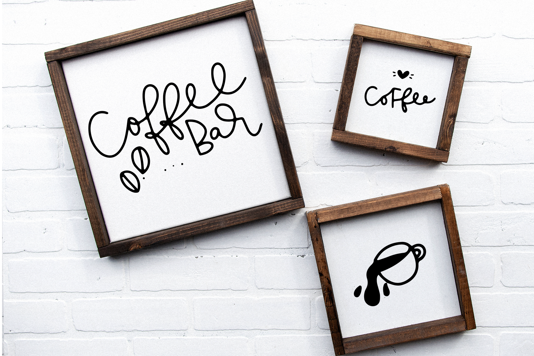 Coffee Shop Doodles - Dingbat Font example image 2