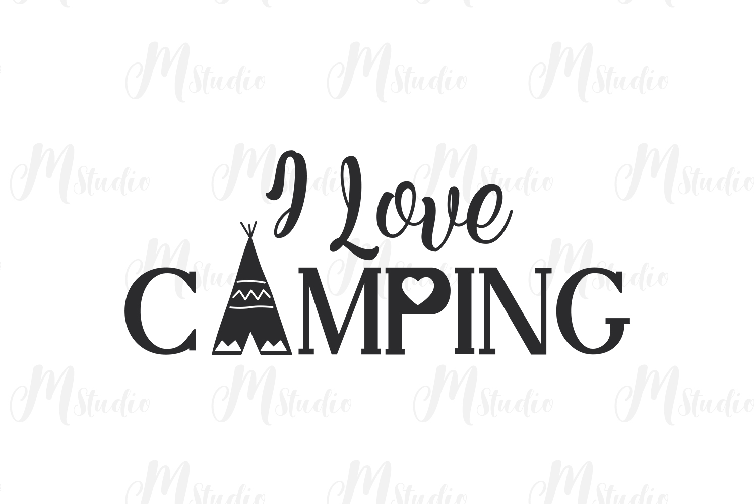 Camping SVG Bundle. example image 18