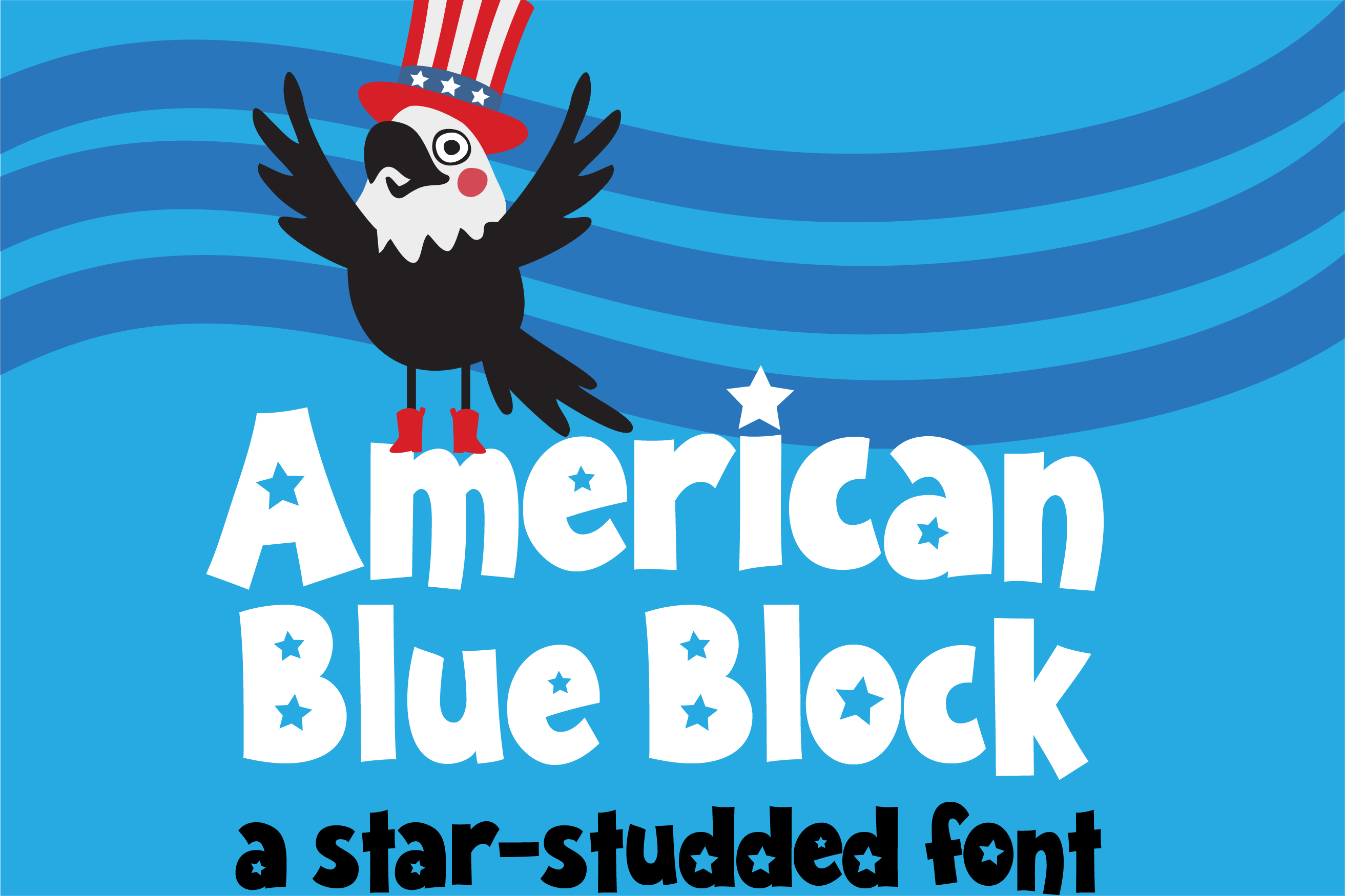 ZP American Blue Block example image 1