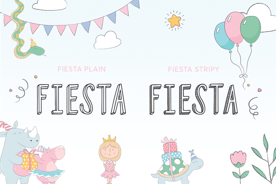 Fiesta Font Duo example image 2