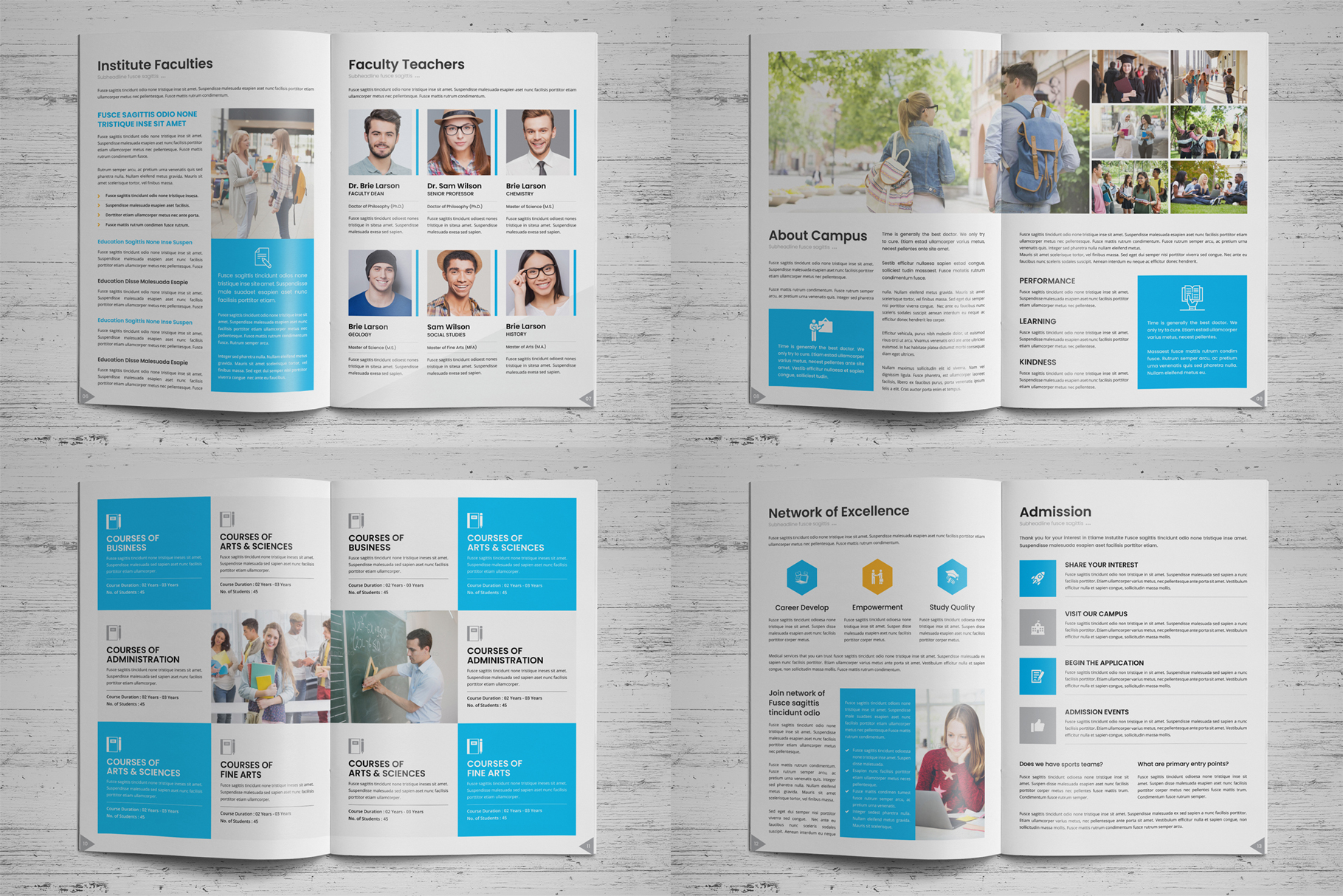 Education Prospectus Brochure v7 example image 14