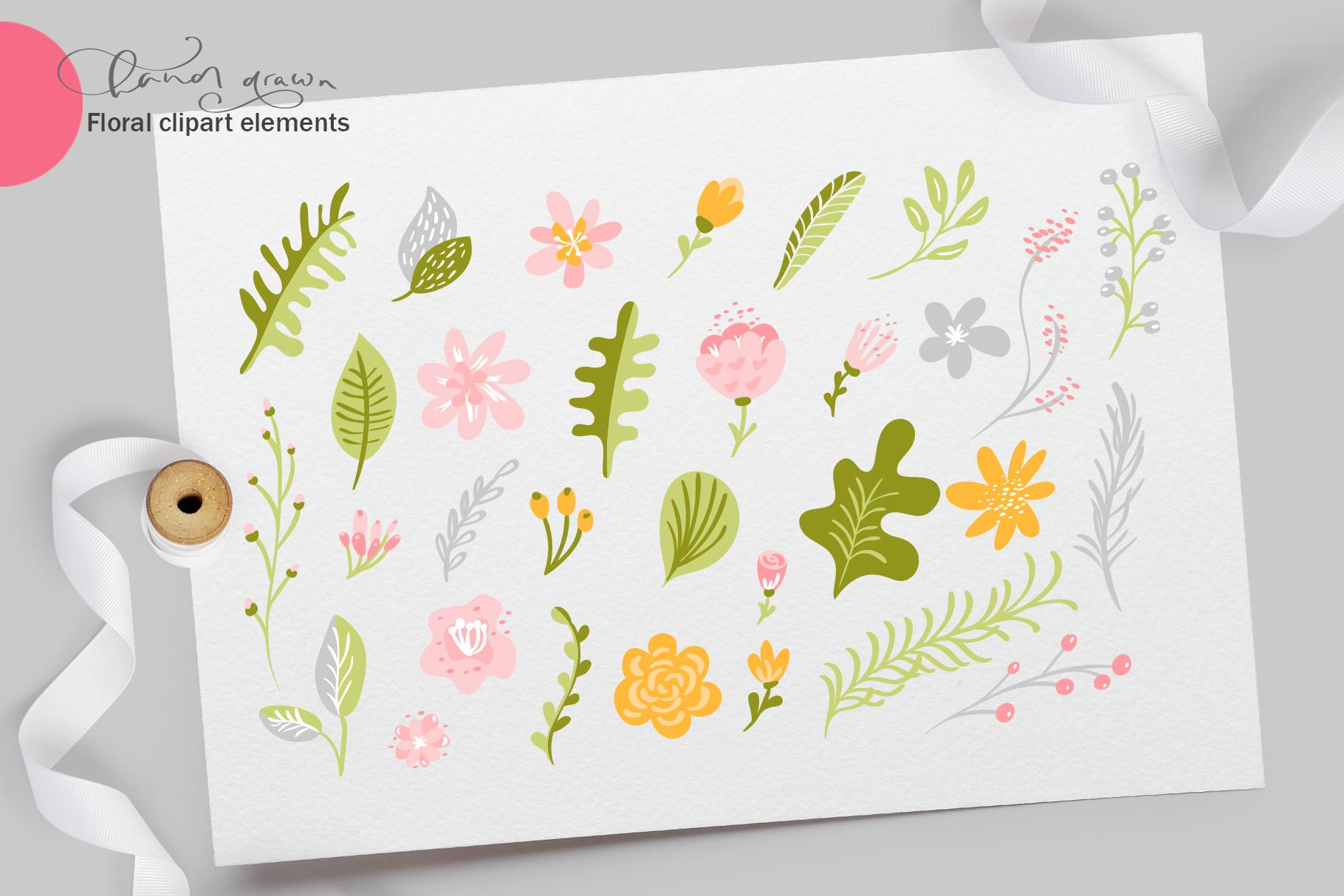 Fresh Feeling Spring Vector Kit SVG example image 3