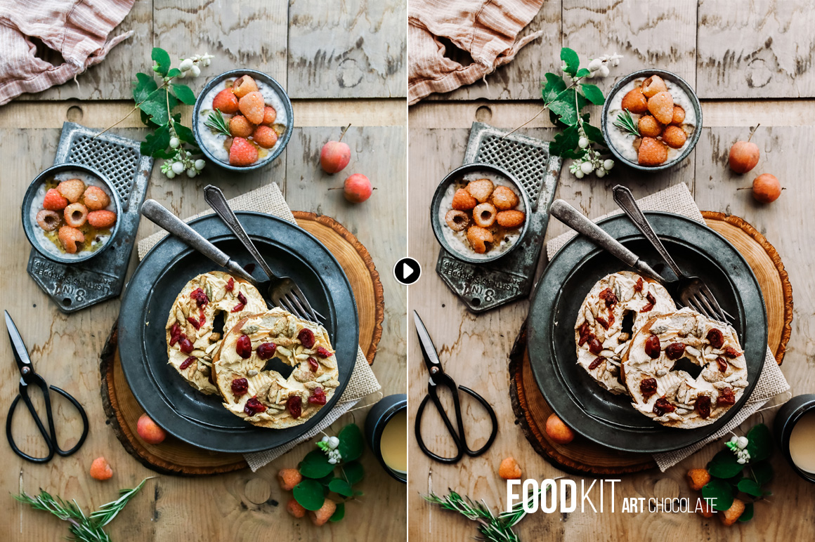 FoodKit - Food Presets for Lightroom & ACR, Desktop & Mobile example image 5