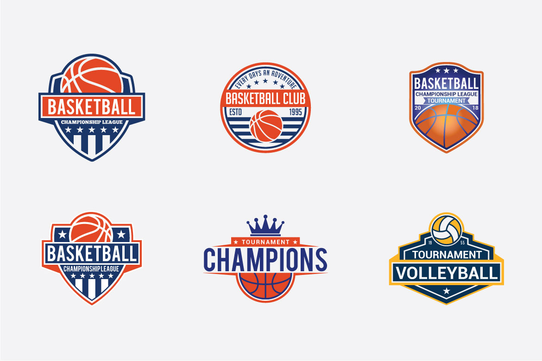 66 SPORTS Logo Templates BUNDLE example image 10