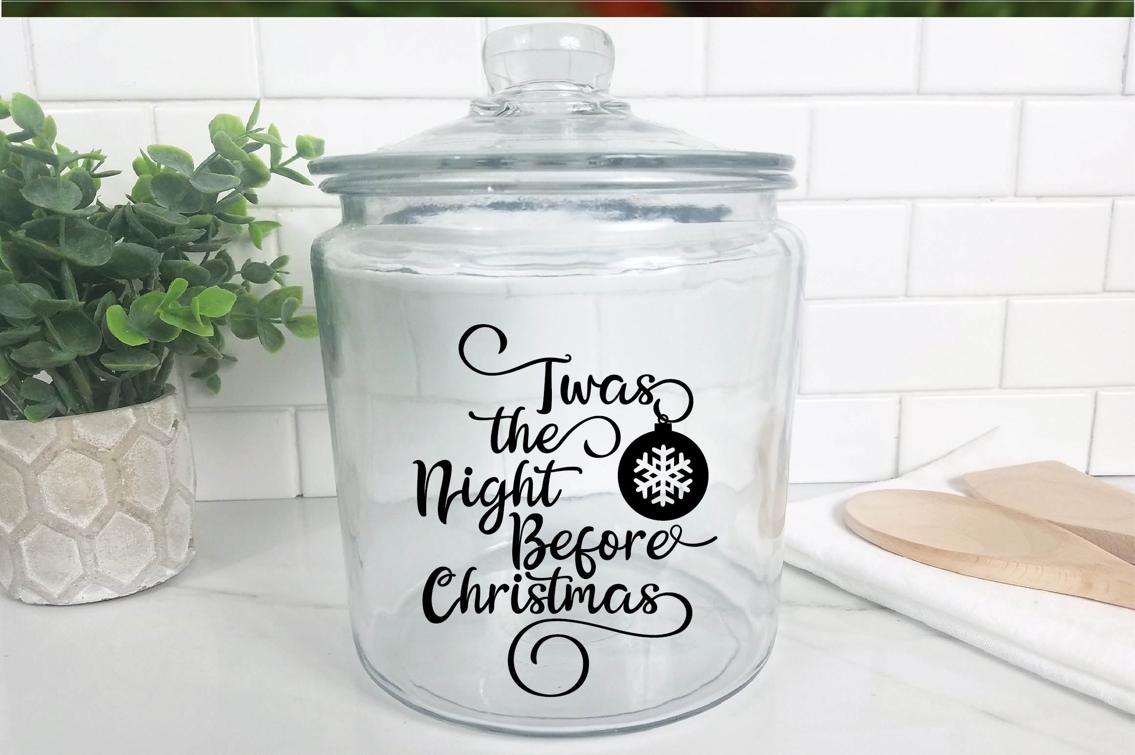 Christmas SVG Cut File - The Night Before Christmas SVG DXF example image 9
