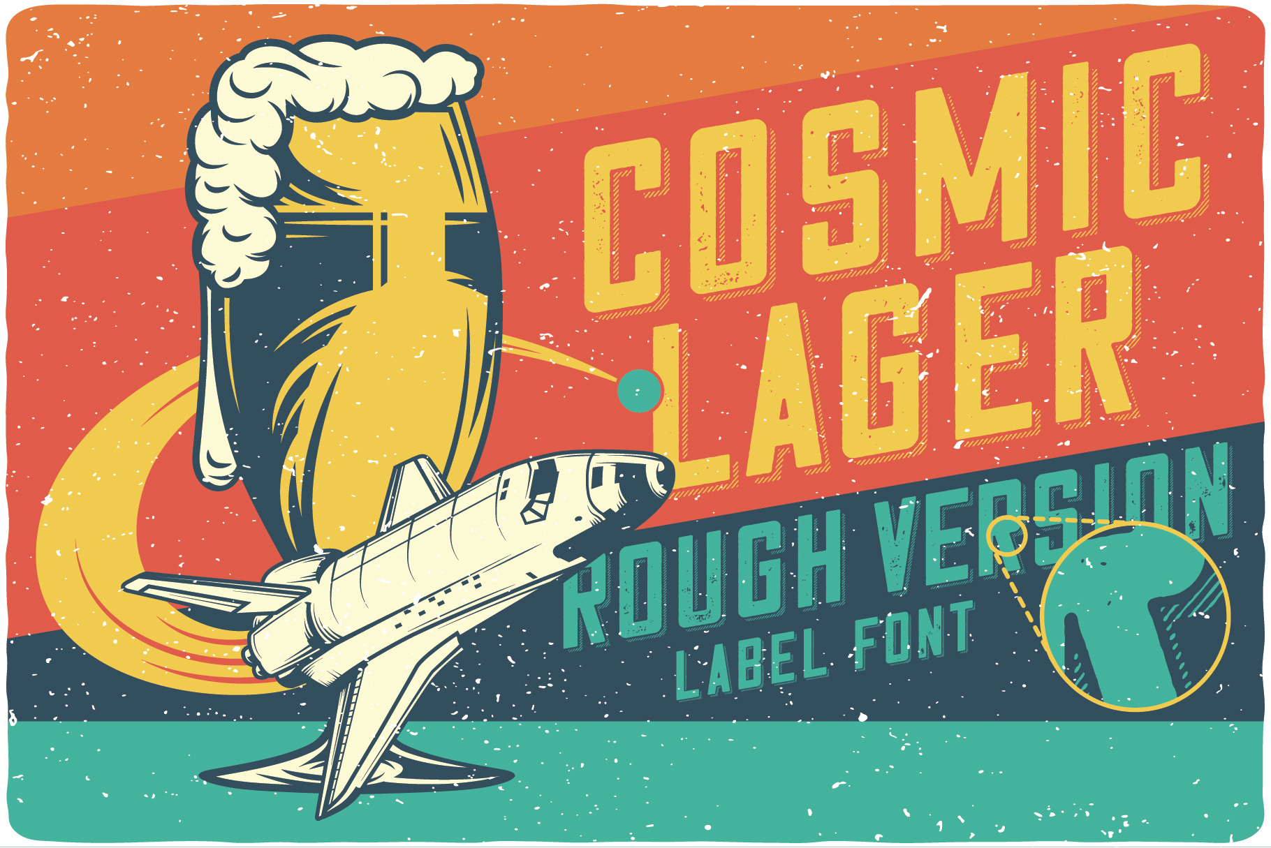 Cosmic Lager with bonus example image 5