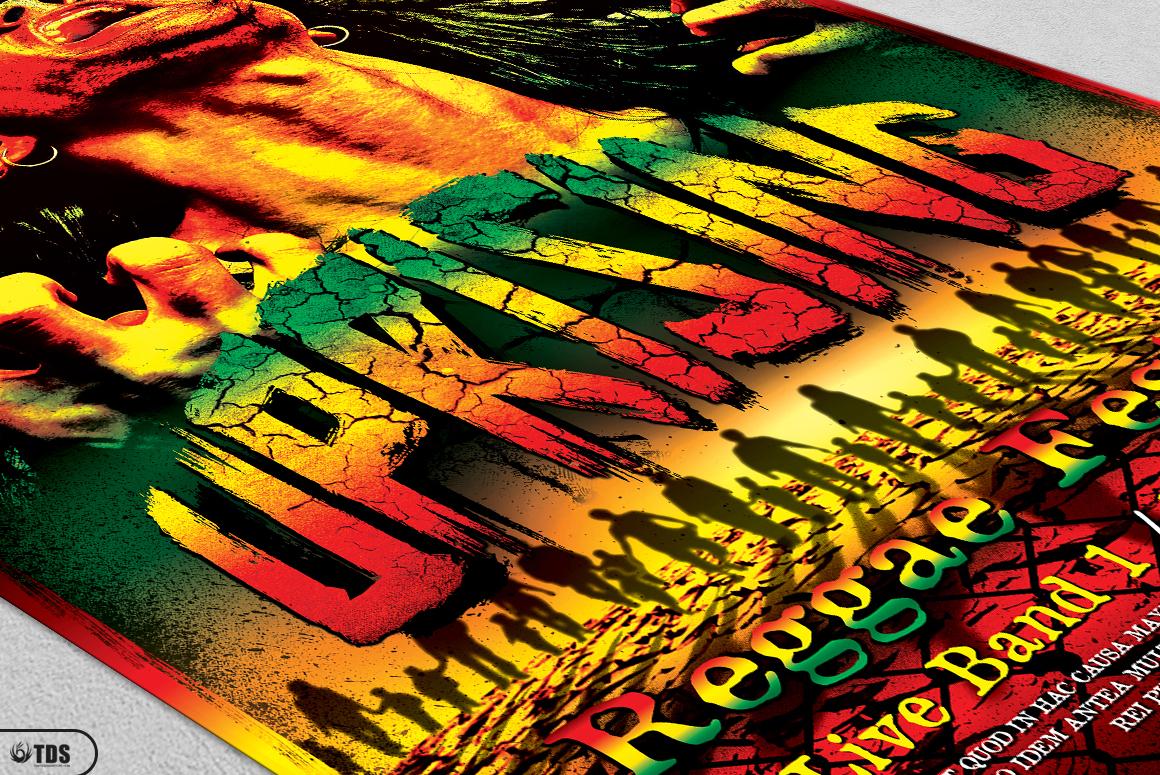 Reggae Flyer Bundle example image 9