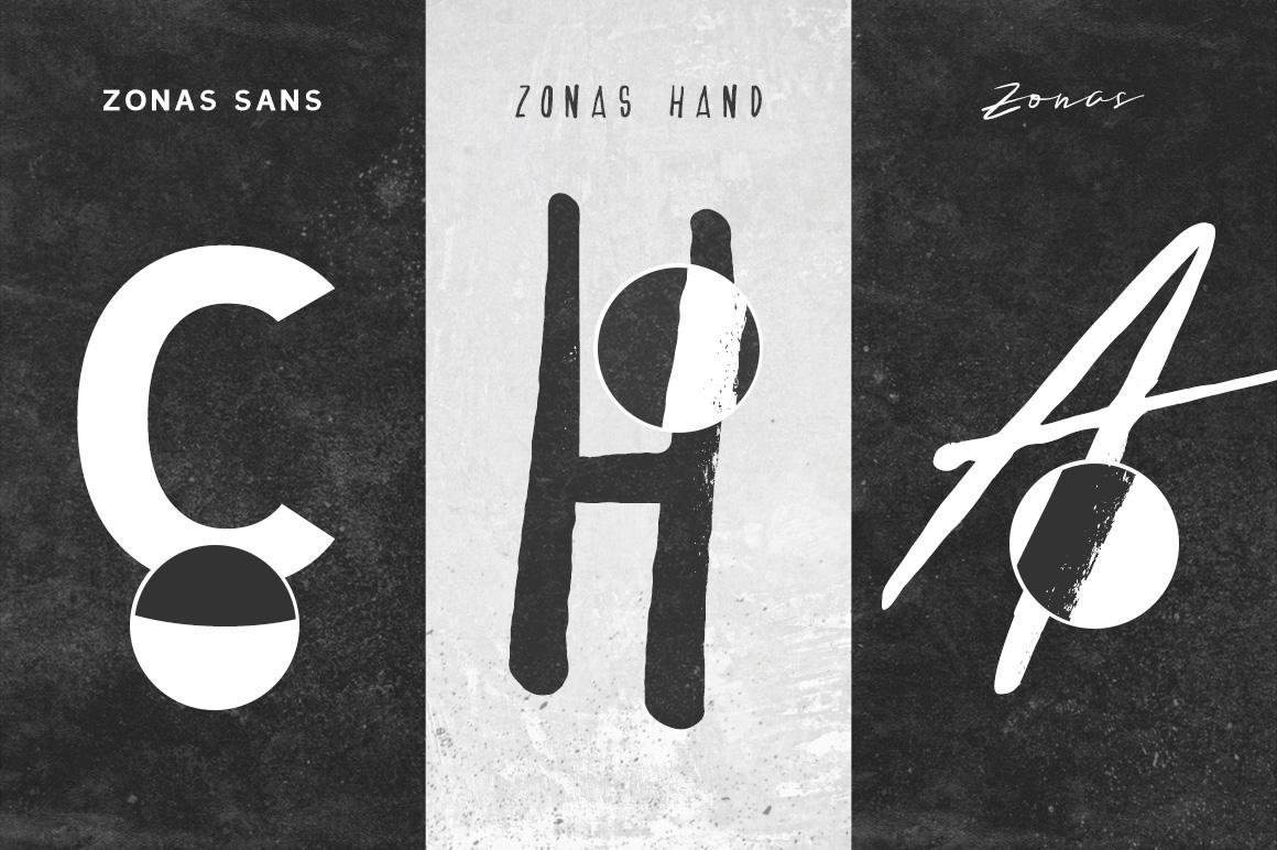 Zonas Typeface example image 5