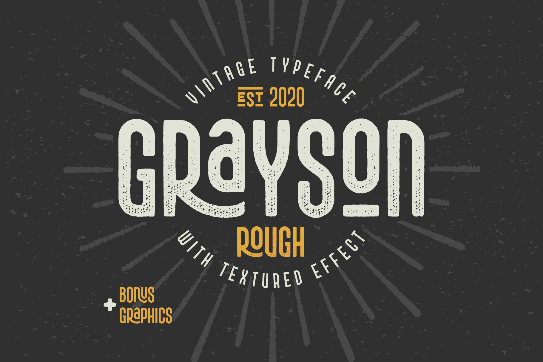Grayson Font Pack. 55 OFF! example image 4