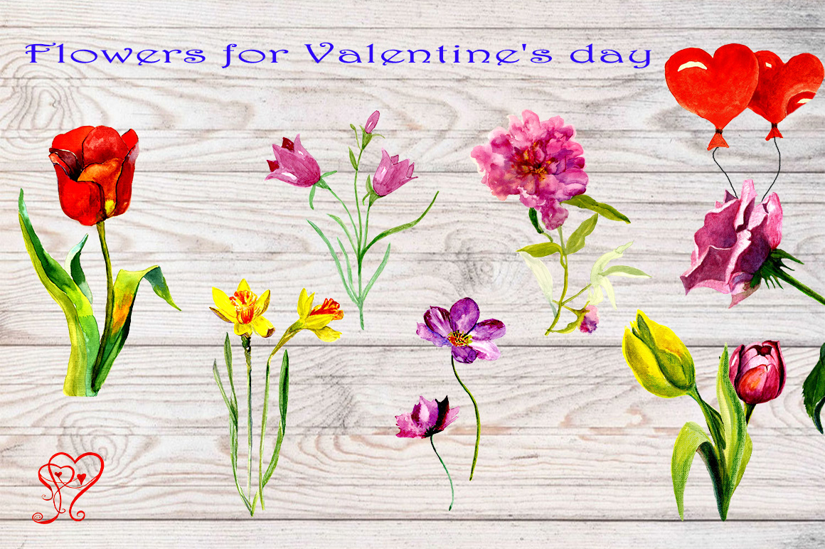 Clipart gnomes for Valentine's Day example image 4
