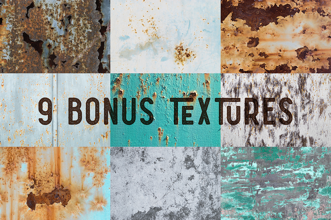 Humblest Font + Textures example image 4