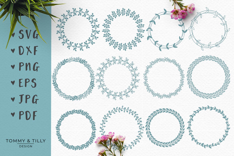 MEGA BUNDLE! Romantic Cut Files - SVG | Papercut example image 6