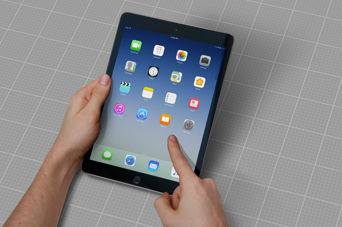 iPad Air Studio Mockups example image 8