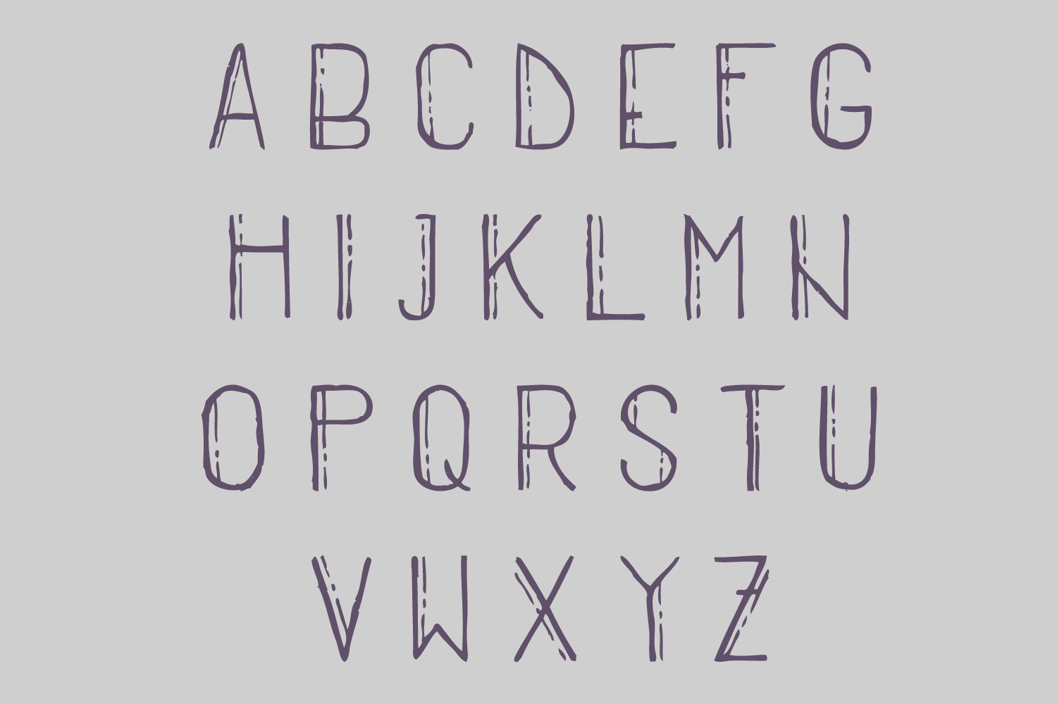 Stripped - A Thin Retro Font example image 3