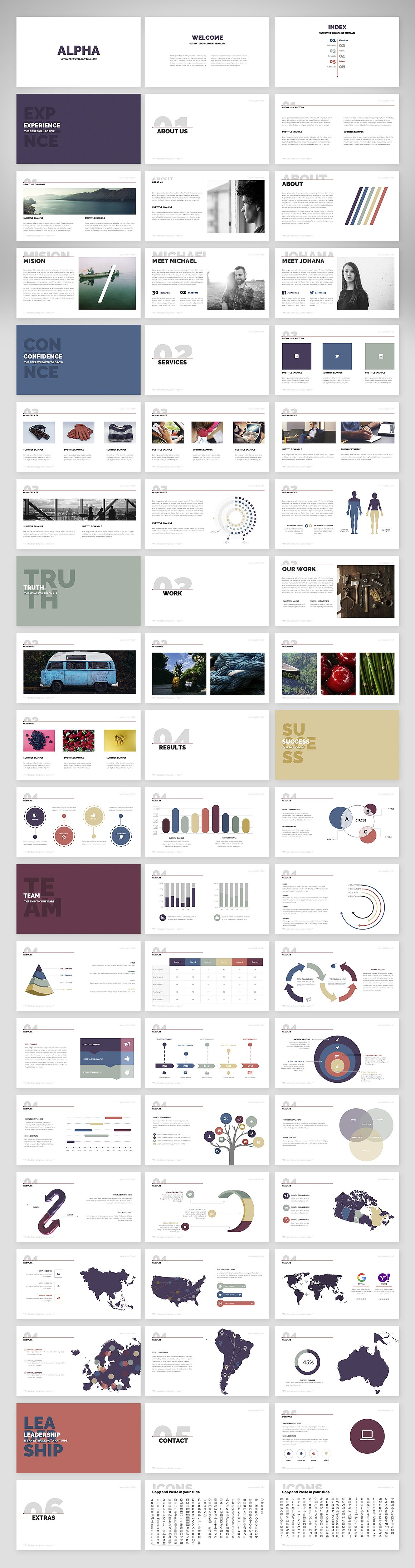 Alpha Powerpoint Presentation Template example image 2