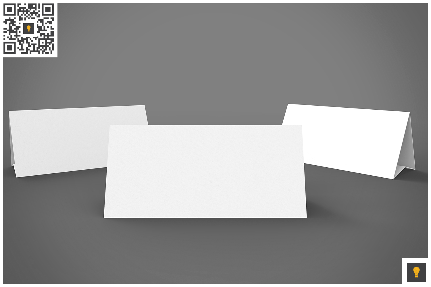 Table Tent 3D Render example image 3