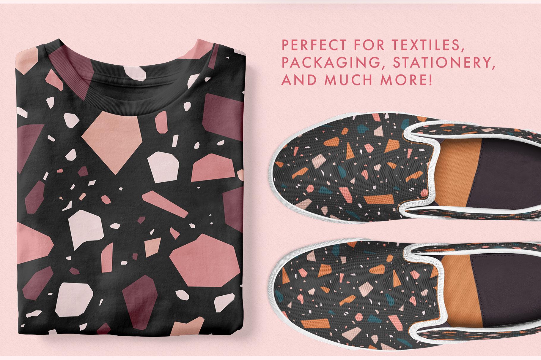 Terrazzo Seamless Patterns Vol. 001 example image 6