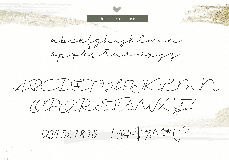 Nora - Handwritten Script Font example image 7