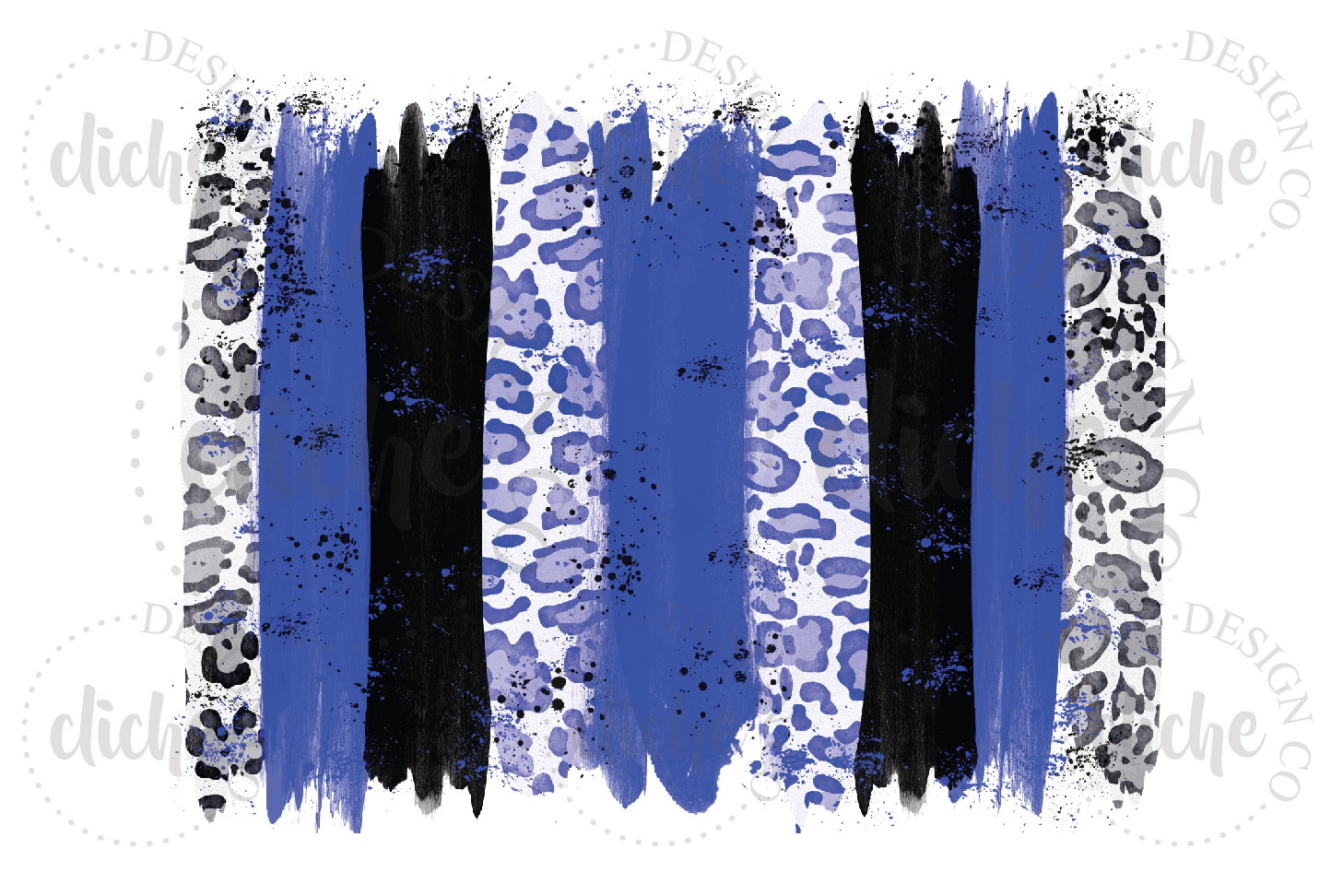 Paint Stroke Sublimation Design Background Bundle example image 2