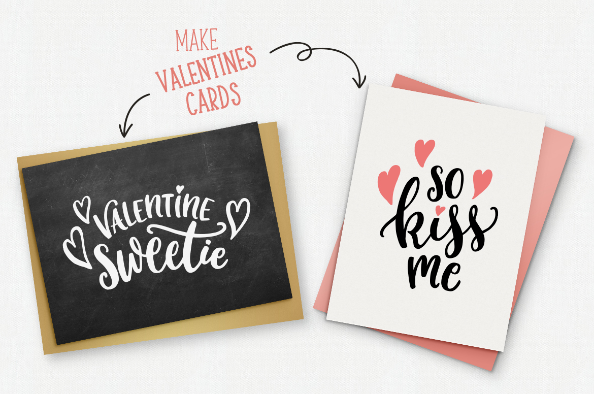 Valentines Day quotes SVG bundle example image 4