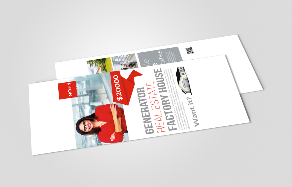 Real Estate Rack Card Template example image 2