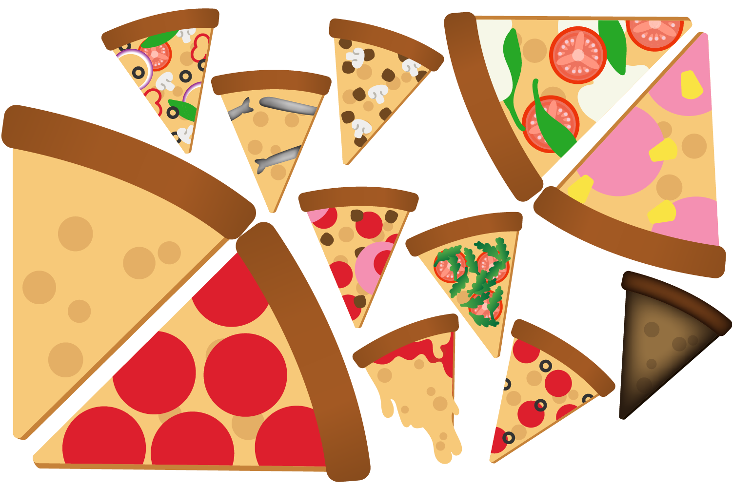 Pizza Slice Clipart example image 2