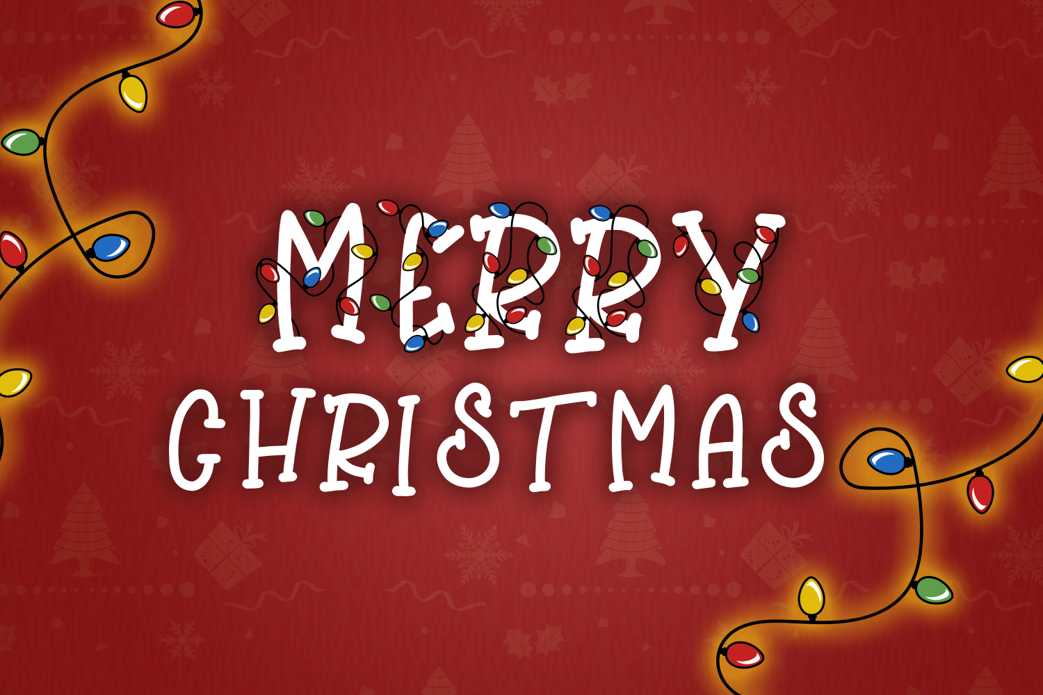 Bright Lights // A Merry Christmas Font example image 7