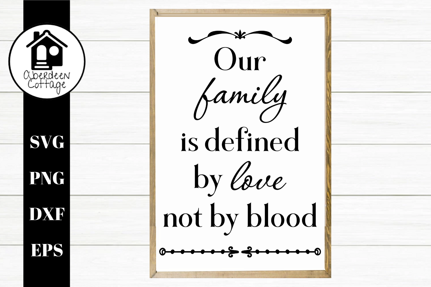 Our Family - A Blended Family SVG | PNG | DXF | EPS example image 1