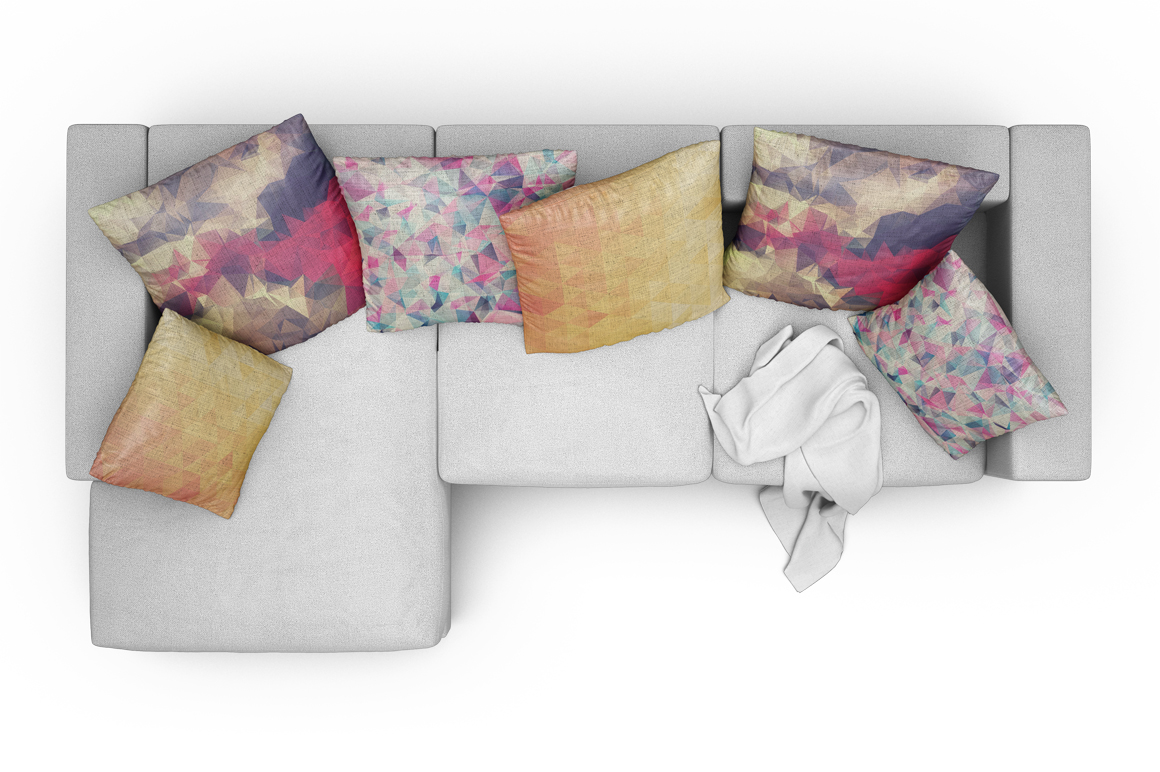 Sofa-Pillows Mockup example image 18