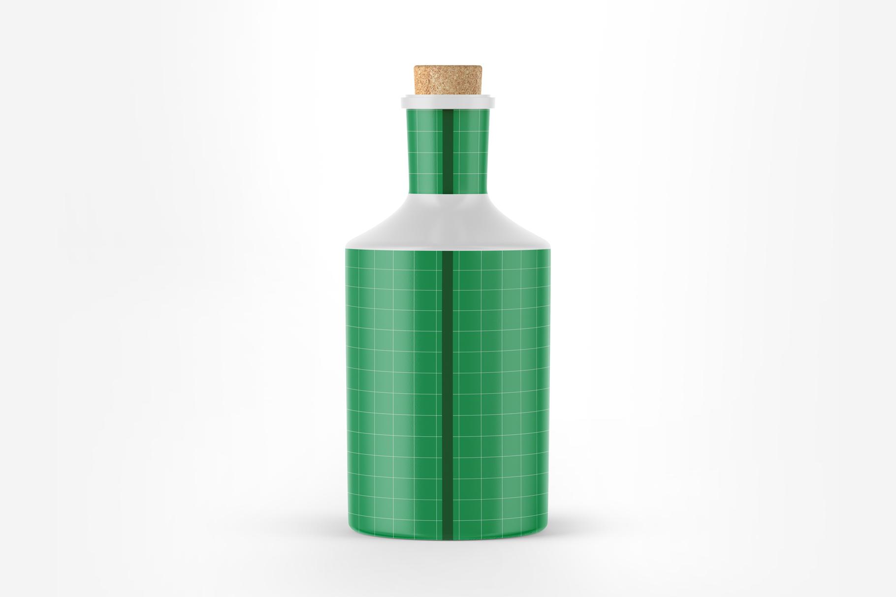 Ceramic Bottle Mockup example image 2