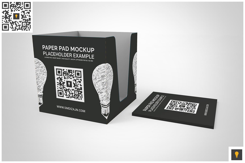 Notepad Holder & Notes Mockup example image 2