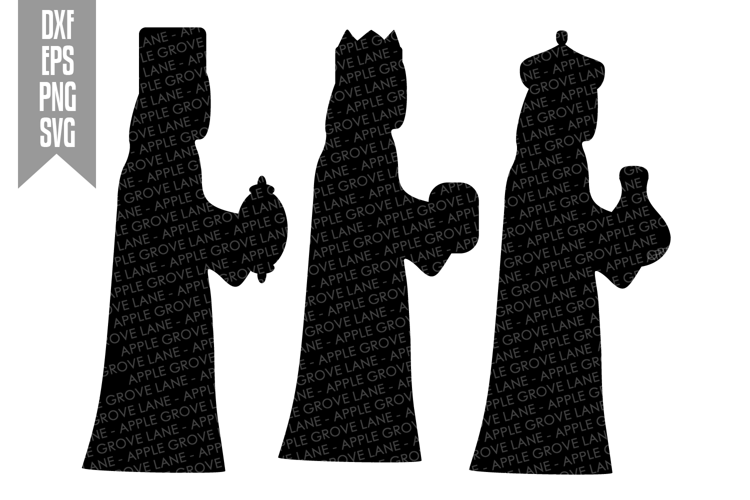 Nativity Svg Bundle - 9 designs included - Svg Cut Files example image 3