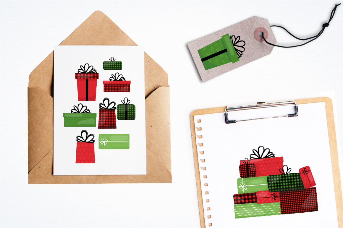 Christmas Gift graphic and illustrations example image 4