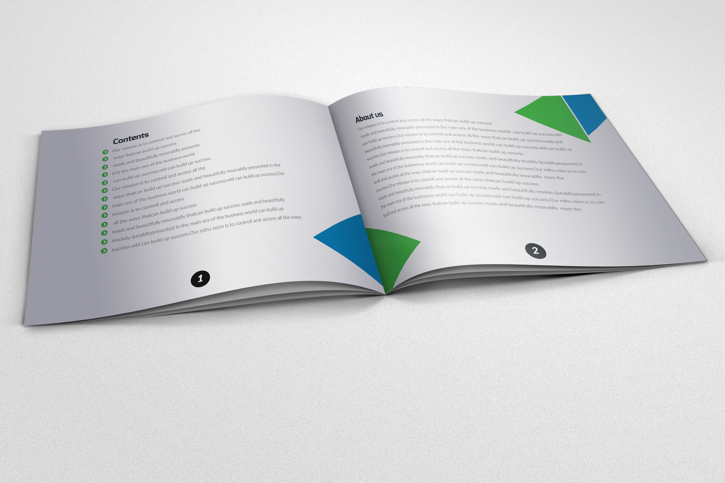 20 Pages Catalogue Education Bifold Brochure example image 2
