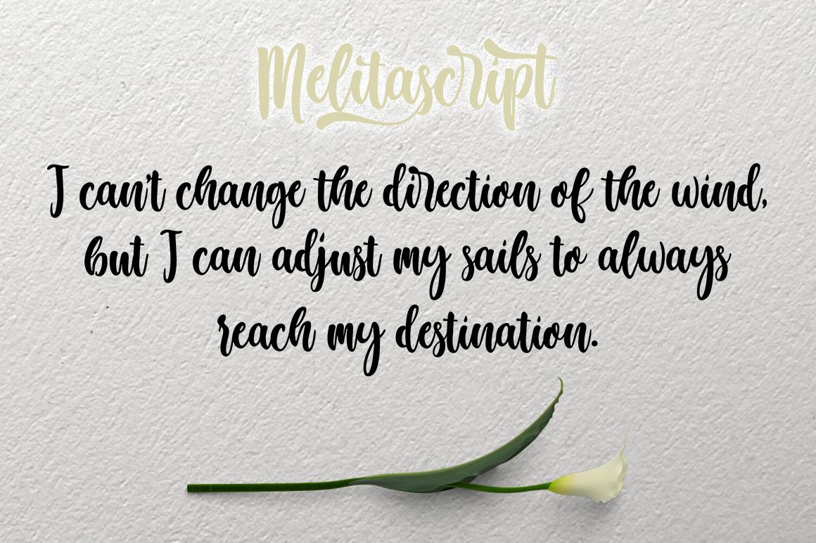 Melita Script example image 6