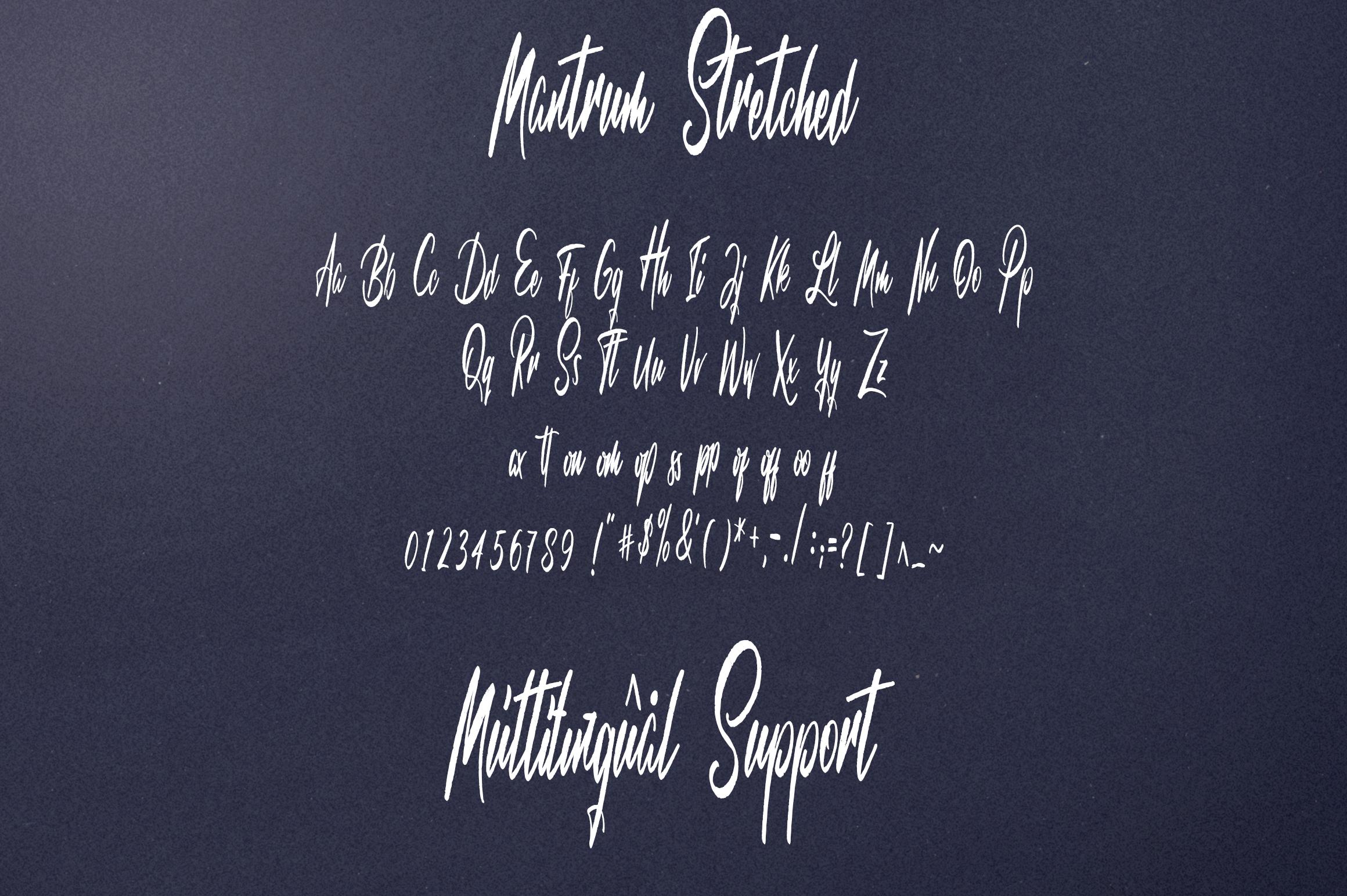 Mantrum - Urban script | 3 styles example image 10