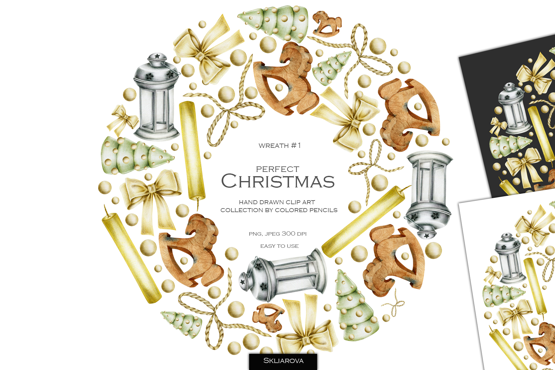 Perfect Christmas. Wreath #1 example image 1