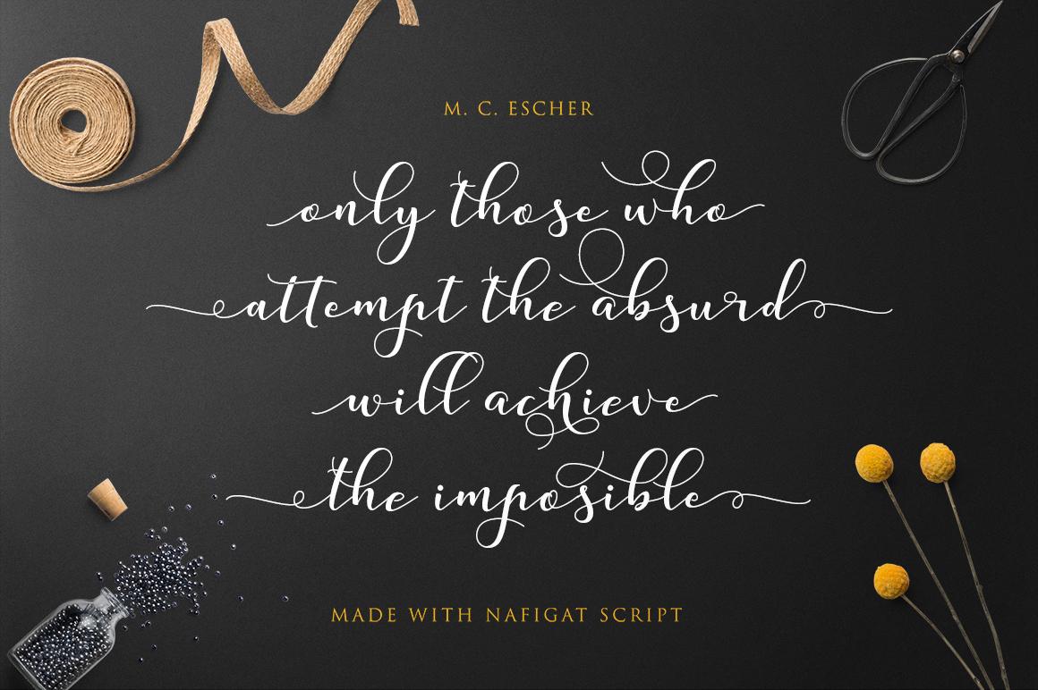 Nafigat Script example image 3