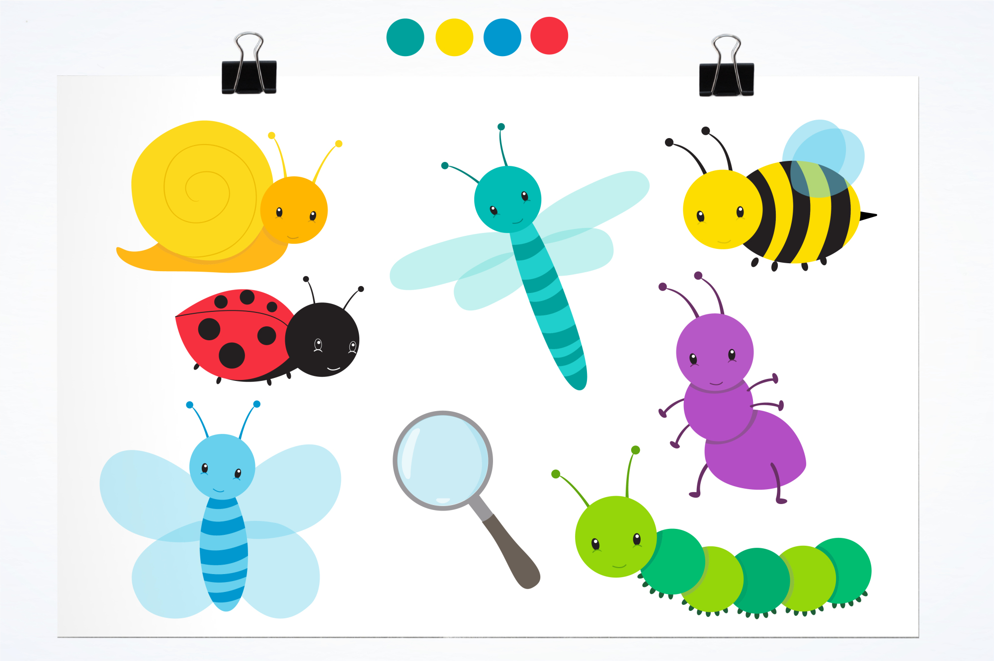 Bugging Out graphics and illustrations example image 2