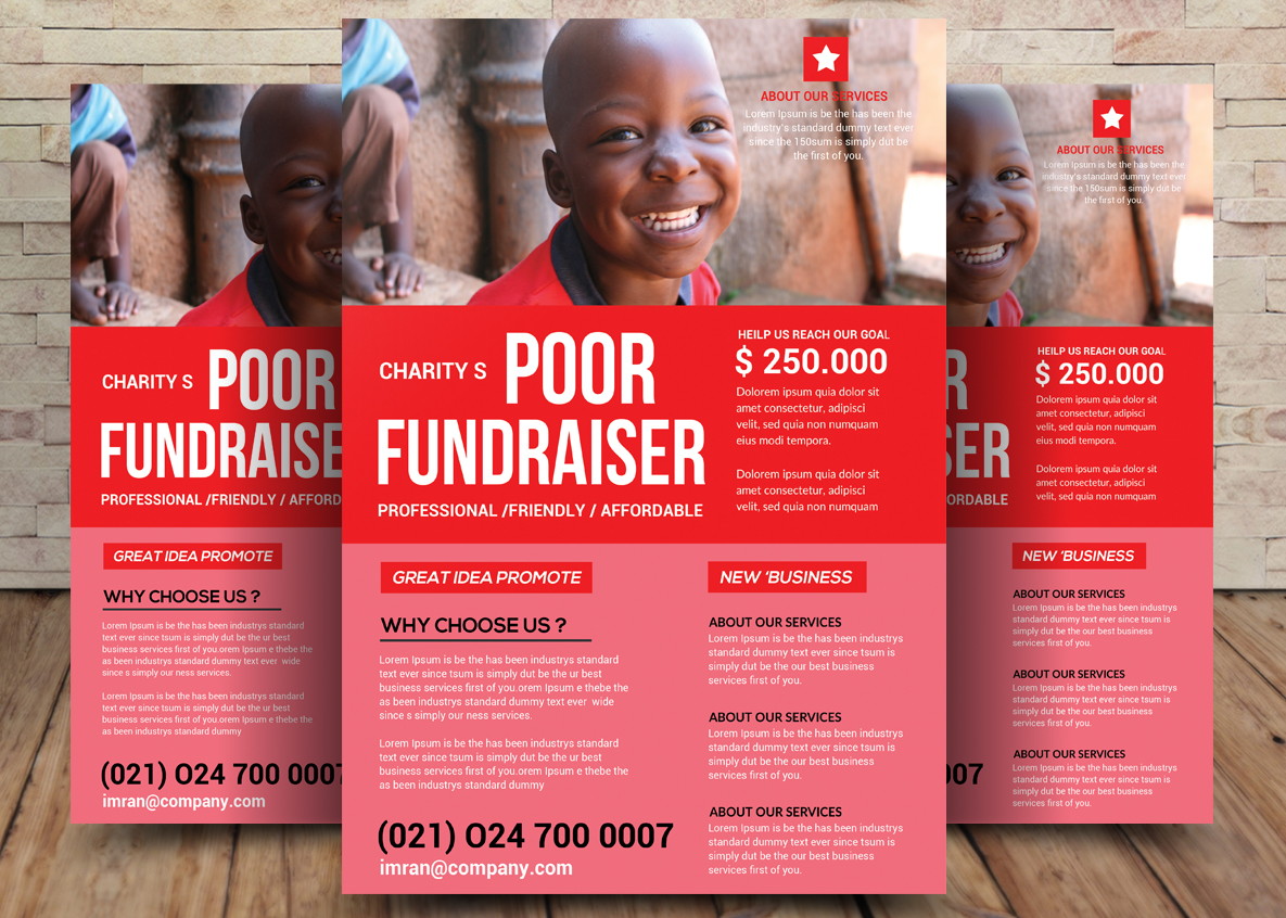 Charity Bundle Flyer 2in1 example image 3