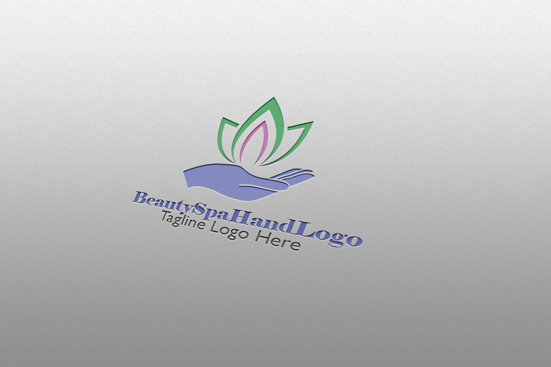 Premium Beauty Spa Hand Logo example image 2