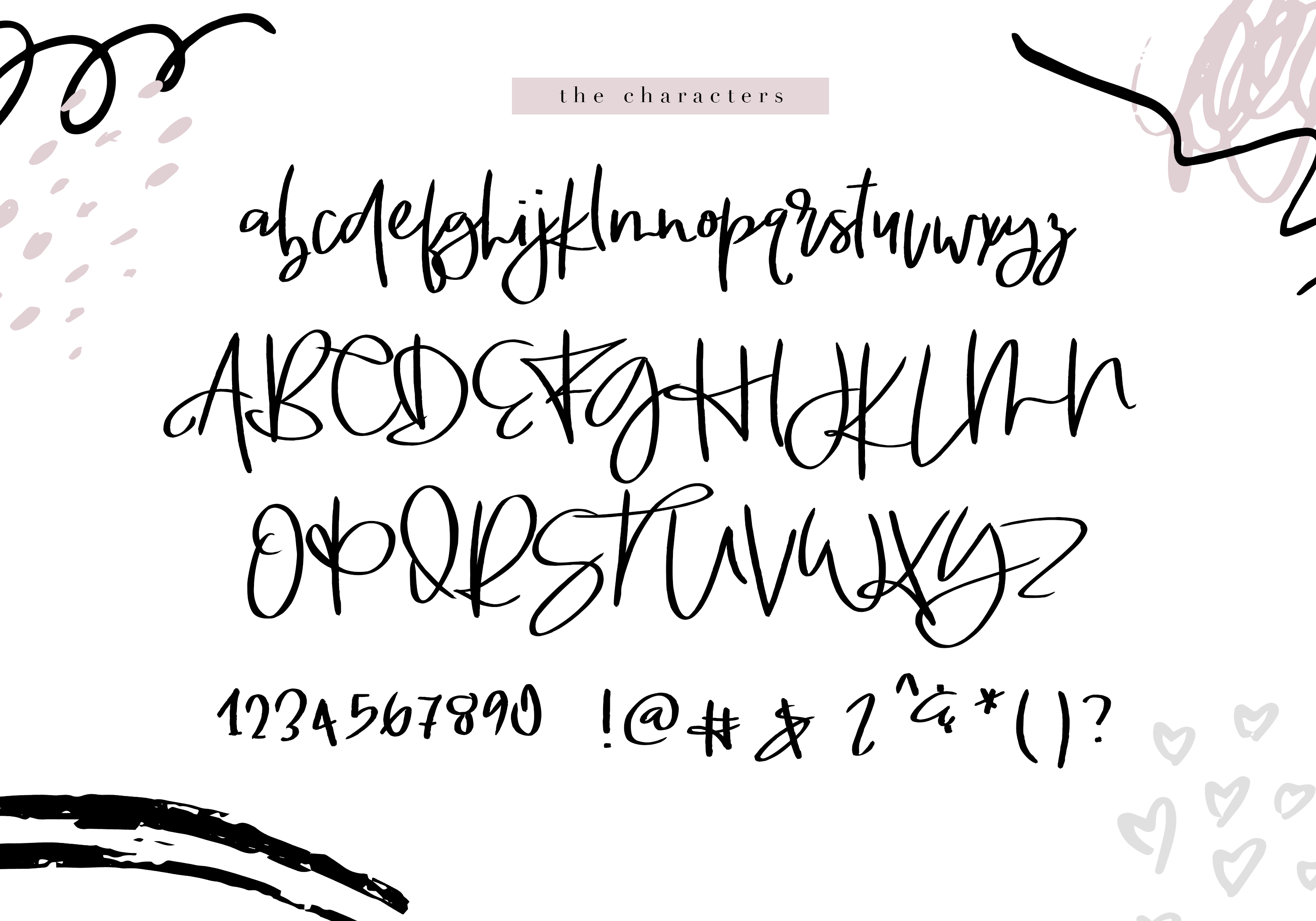 Mademoiselle - Chic Brush Font example image 12
