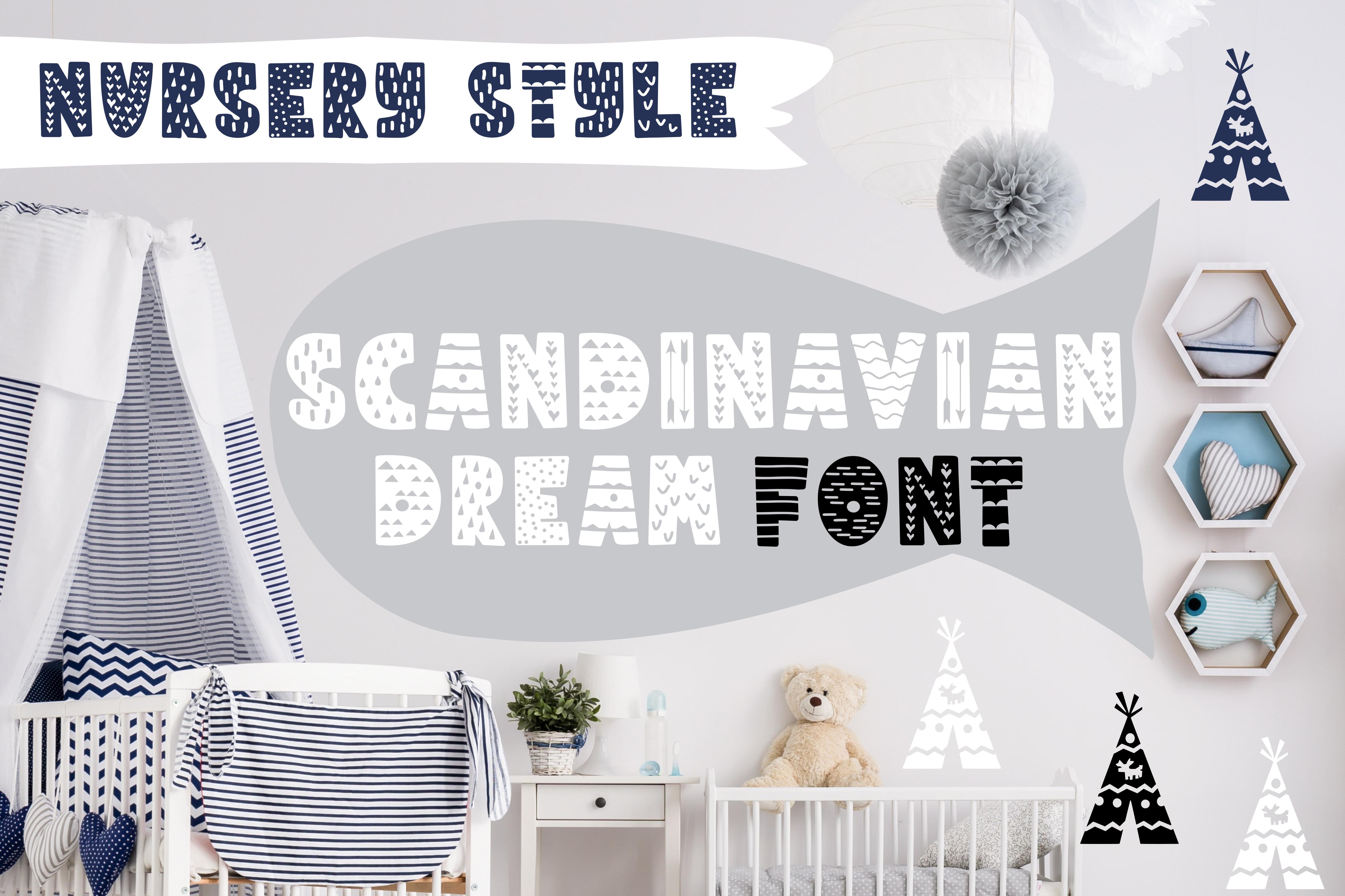 SCANDINAVIAN DREAM FONT example image 1