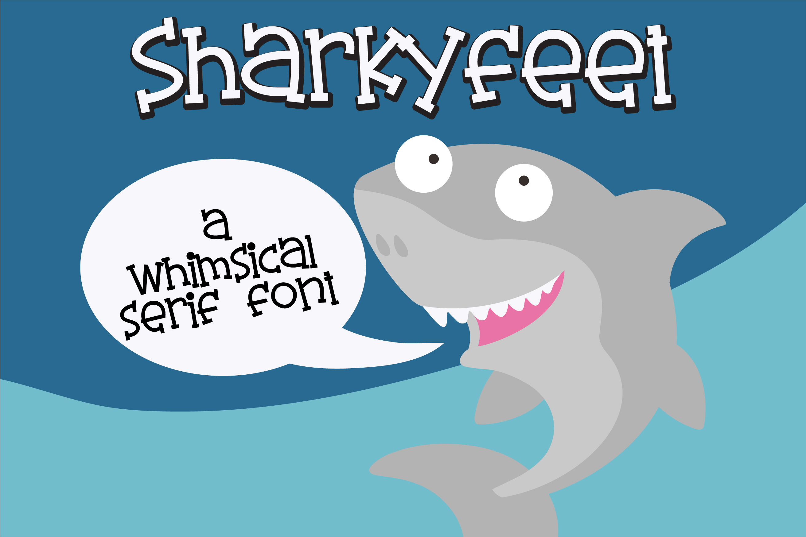 PN Sharkyfeet example image 1