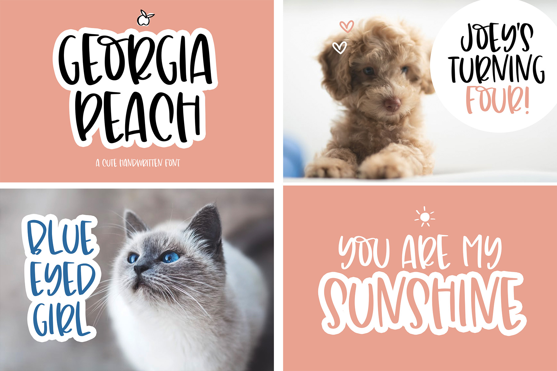 The Sweet Font Bundle - 14 Fun & Quirky Fonts example image 2