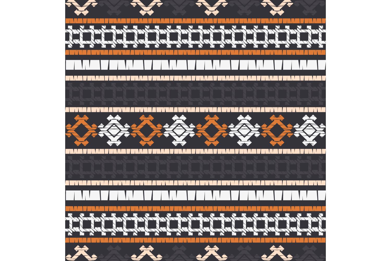 Ethnic boho ornament. Set of 10 seamless patterns. example image 4