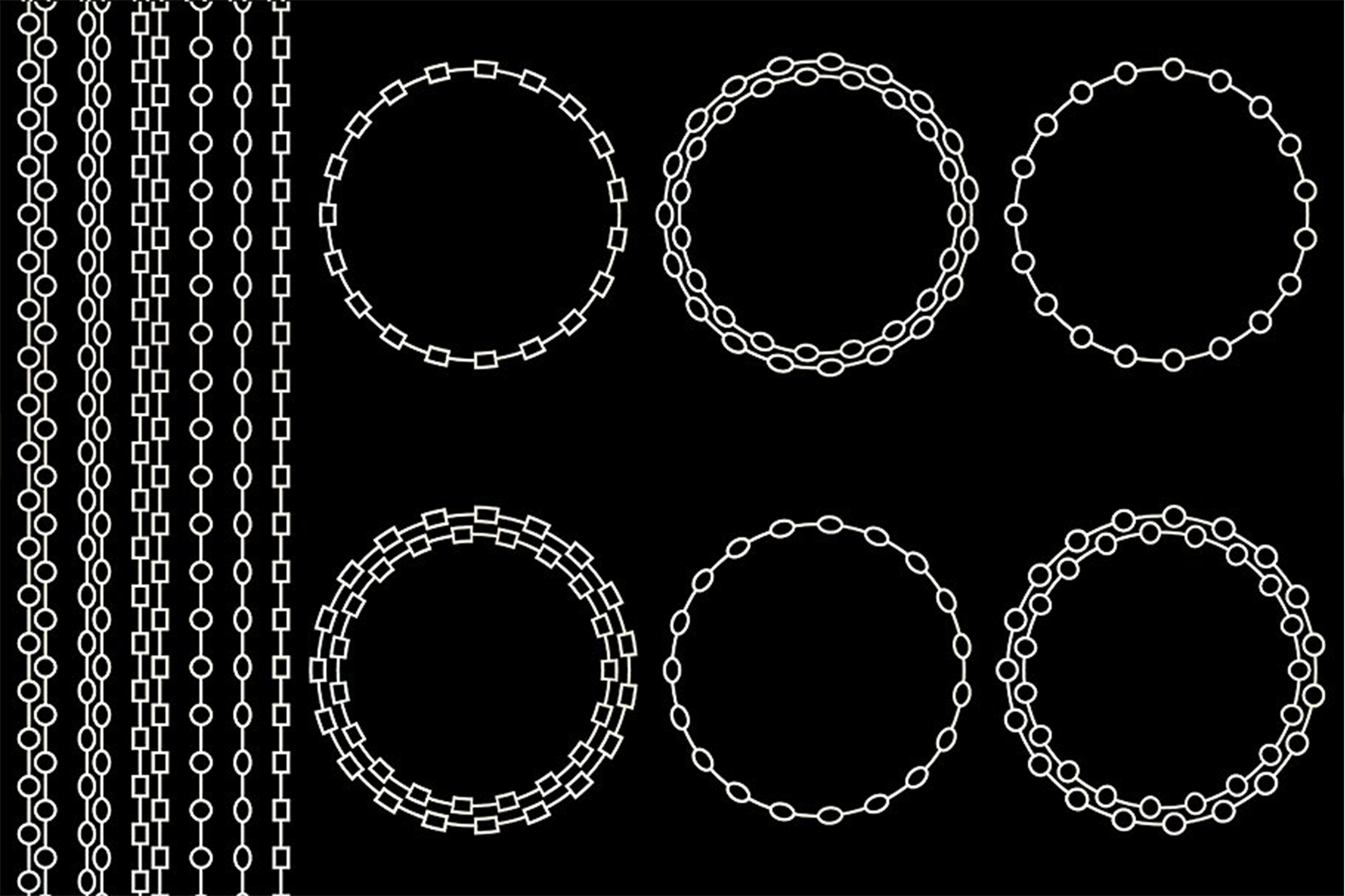 Chain Frames & Borders example image 2
